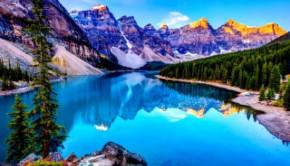 Природа, горы, озеро.